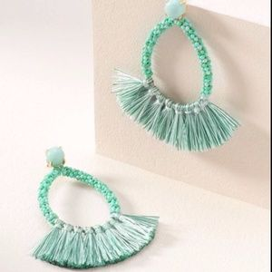 Stella and Dot Anne Fringe Earrings